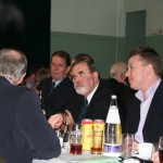 Nigel listening - sure some strange things happen at the supper!!