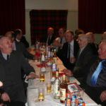 A dram while the raffle is drawn