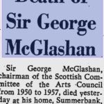 Sir George McLashan 1