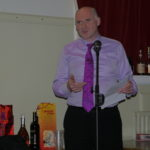 Alastair Scott toasts Burns Clubs the World Over