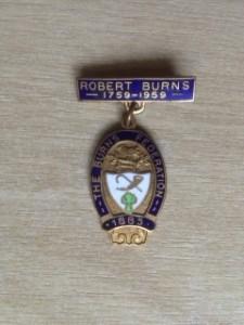 Burns Fed Badge