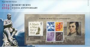 Burns Stamps