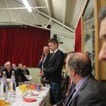 Arron Dawson Addressing the Haggis