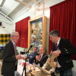 Ian Kemp retires from the post of Treasurer