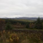 The road to Aberfeldy